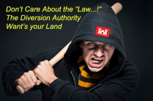 Diversion Authority and USACE Bully Landowners