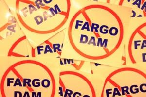 Free Fargo Dam Sticker