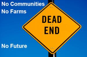 Fargo Dam & Diversion Economic Dead Zone