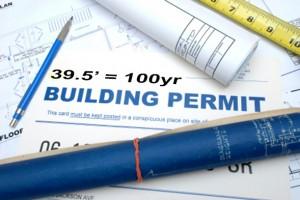 2013 Building Permits 100 year Flood Plain Fargo, ND 39.5 feet
