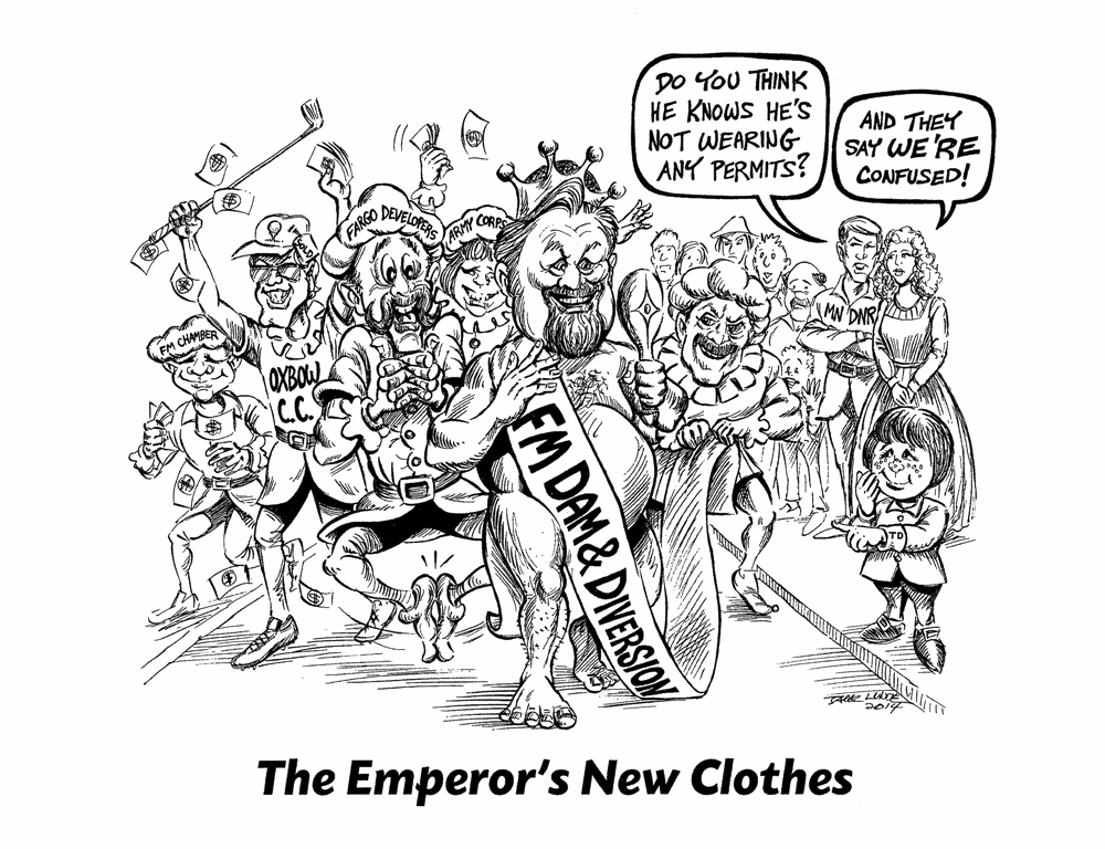 Emperor Dennis Walaker's New Clothes