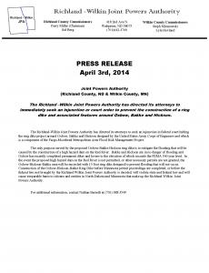 OHB Ring Dike Injunction