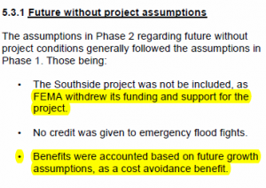 Facts, FEMA and Southside Development