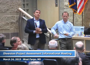 Keith Berndt, avoids public questions claiming it was not the format of the public meeting.