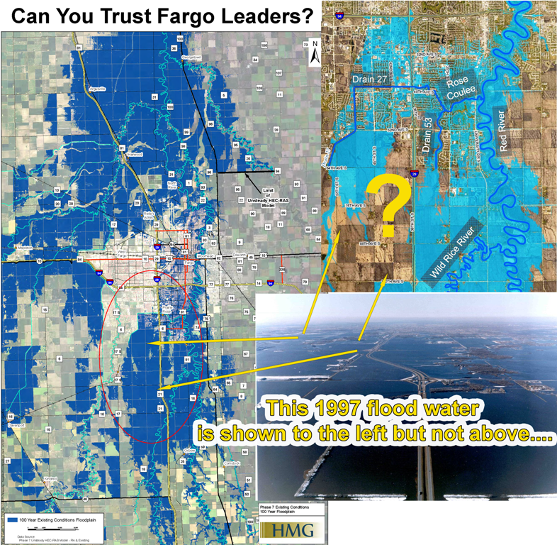 Comparing 1997 Flood to Fargo Modeling (web)
