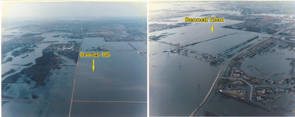 1997 Fargo, ND Pre-Development Encroachment Davies H.S. and Bennet Elementary