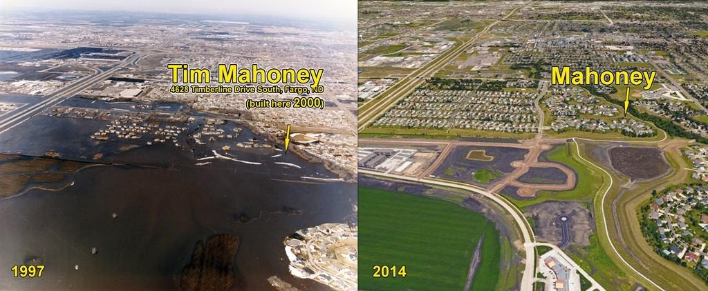 Natural Flood Plain Encroachment - Fargo Mayor Tim Mahoney
