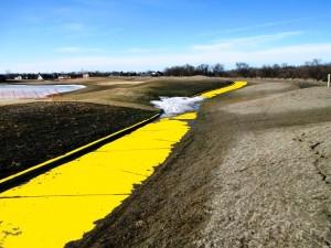 "Oxbow's ""Golden"" Golf Cart Path"