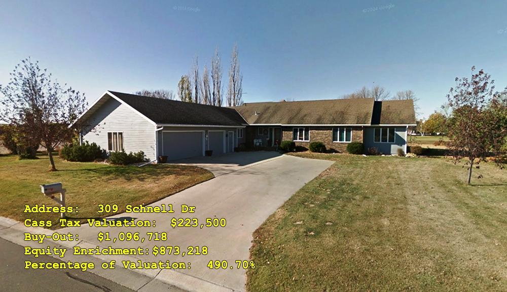 309 Schnell Dr, Oxbow, ND Buy-Out