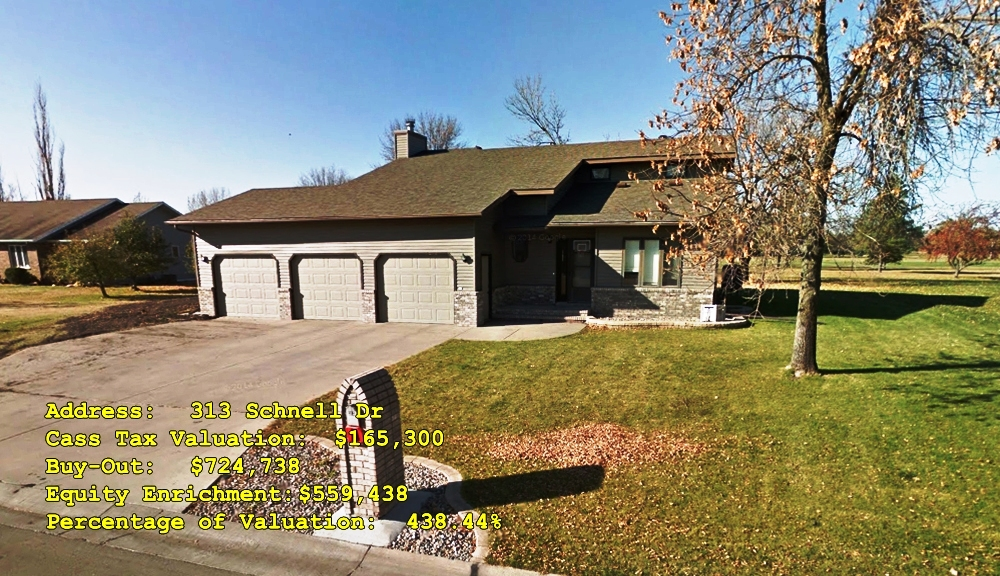 313 Schnell Dr, Oxbow, ND Buy-Out