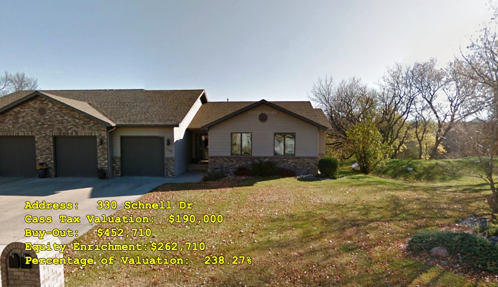 330 Schnell Dr, Oxbow, ND Buy-Out