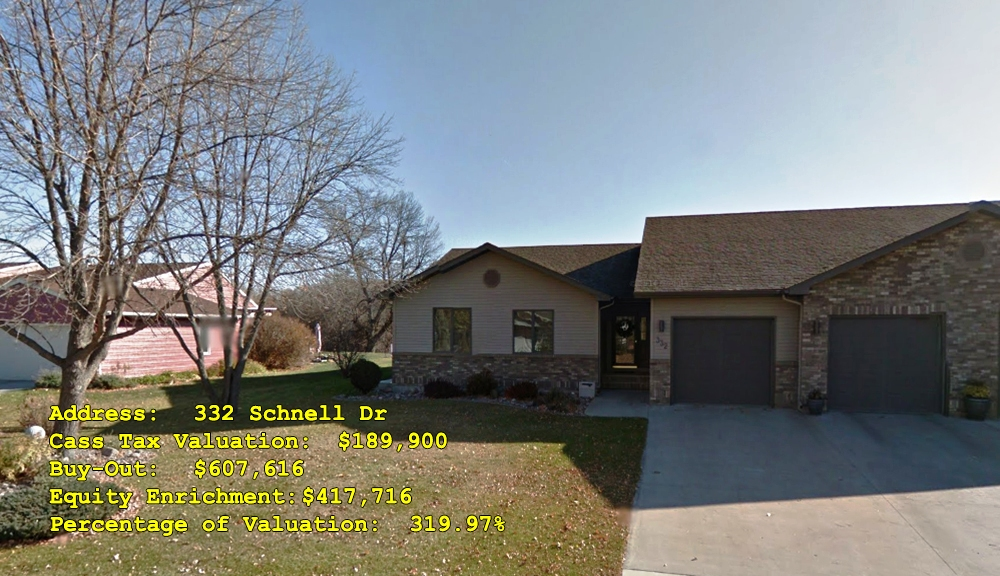 332 Schnell Dr, Oxbow, ND Buy-Out