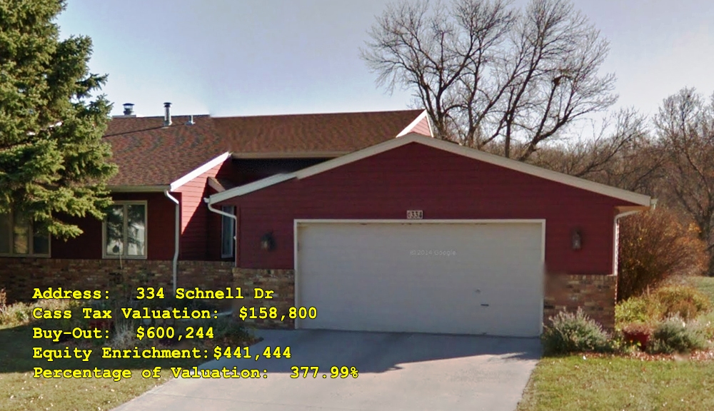 334 Schnell Dr, Oxbow, ND Buy-Out