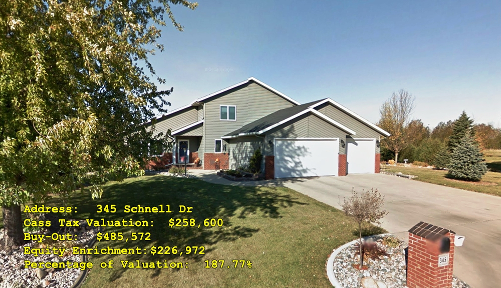 345 Schnell Dr, Oxbow, ND Buy-Out