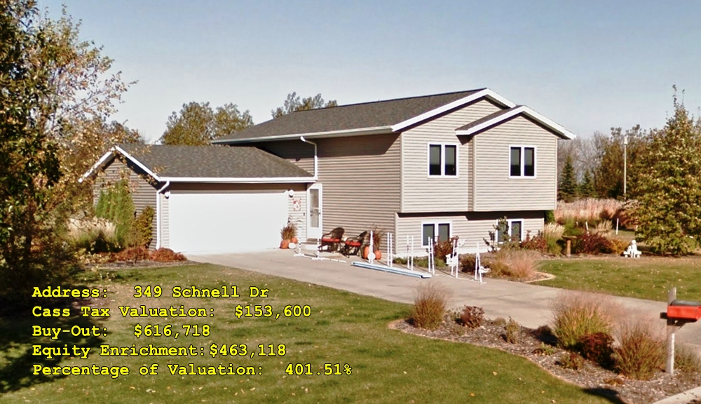 349 Schnell Dr, Oxbow, ND Buy-Out