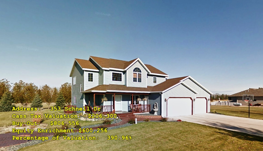 353 Schnell Dr, Oxbow, ND Buy-Out