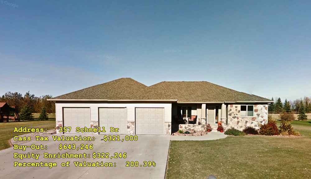 357 Schnell Dr, Oxbow, ND Buy-Out