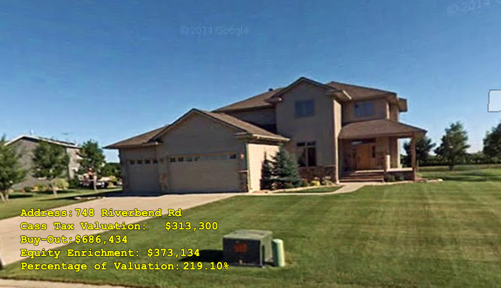 748 Riverbend Rd, Oxbow, ND Buy-Out