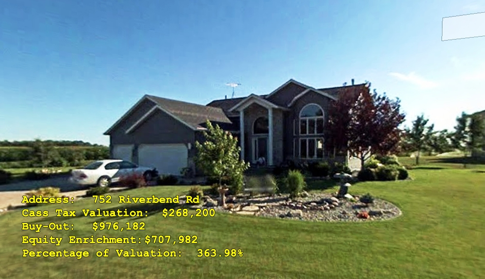752 Riverbend Rd, Oxbow, ND Buy-Out