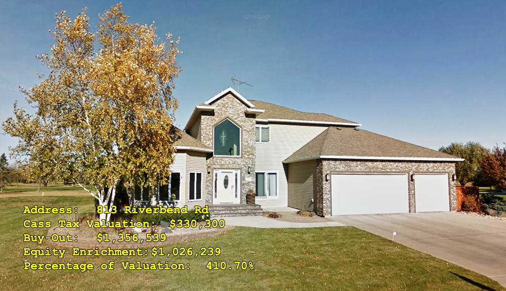 813 Riverbend Rd, Oxbow, ND Buy-Out