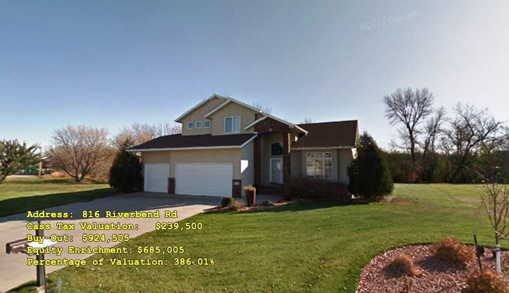 816 Riverbend Rd, Oxbow, ND Buy-Out