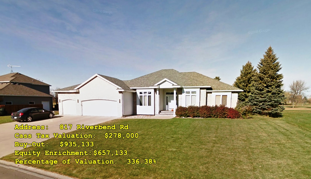 817 Riverbend Rd, Oxbow, ND Buy-Out
