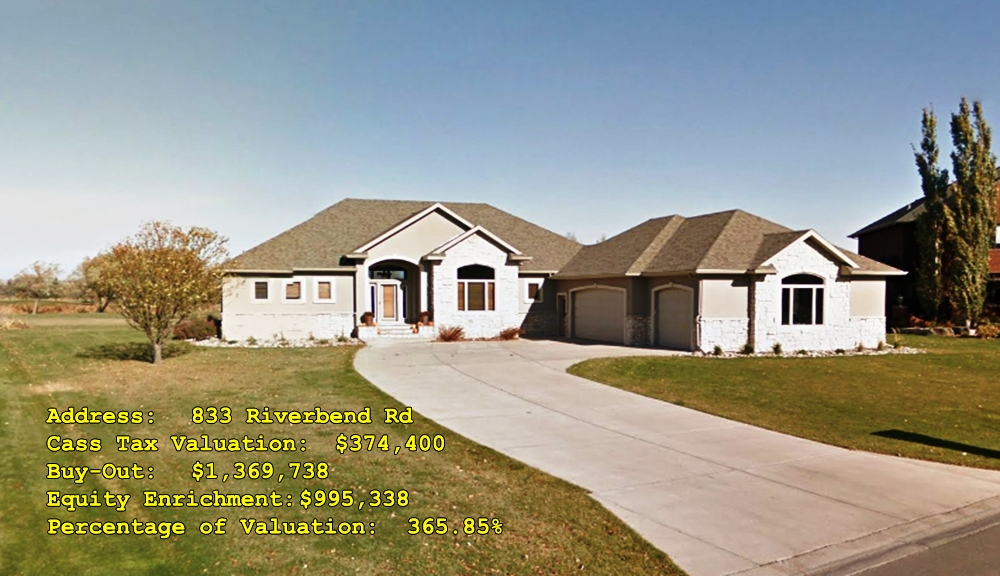 833 Riverbend Rd, Oxbow, ND Buy-Out