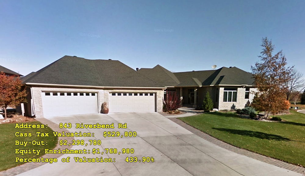 843 Riverbend Rd, Oxbow, ND Buy-Out