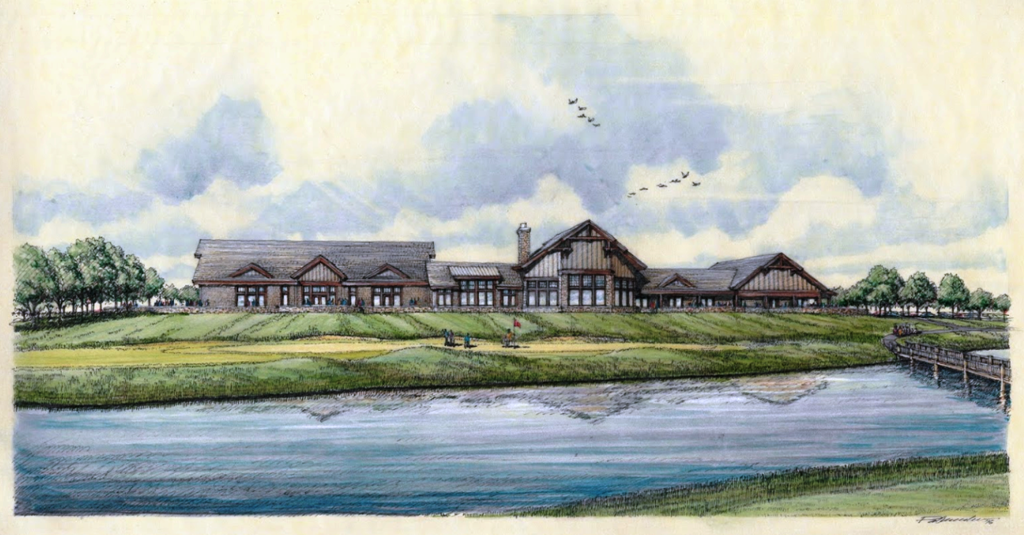 Oxbow Club House (Click for Large View)