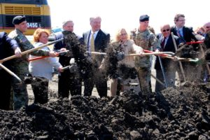 Fargo Dam and Diversion Ground Breaking April 17, 2017
