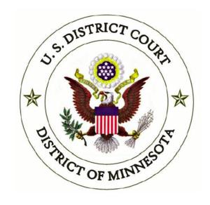 U.S. District Court Minnesota