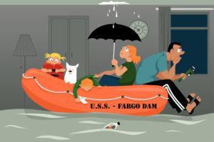 Natural Flood Plain, Fargo, ND